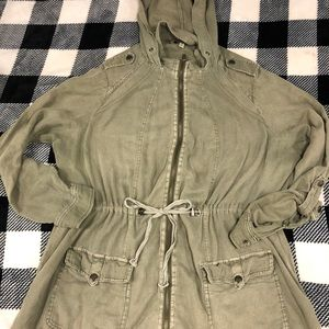 Torrid military style jacket size 1